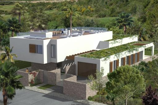 Bright, modern newly-constructed villa in Sol de Mallorca