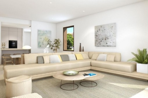 Inviting living area