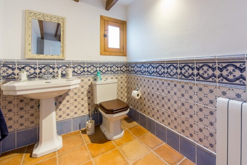 Bathroom with heating