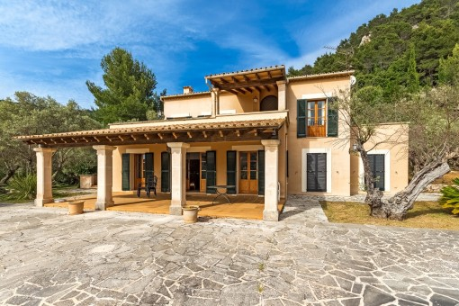 Magnificent villa with tremendous views of Valdemossa