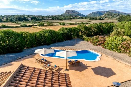 Beautiful, quietly-situated Finca optimally located between Capdepera and Cala Ratjada