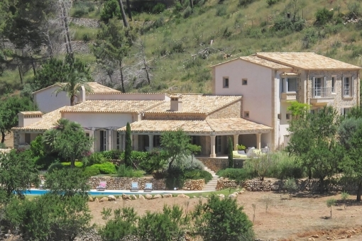 Stylish Finca in Andratx, the perfect combination of traditional and modern