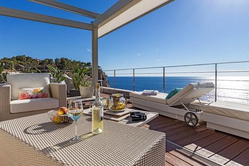 Dreamlike terrace