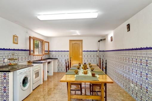 Mallorquin kitchen