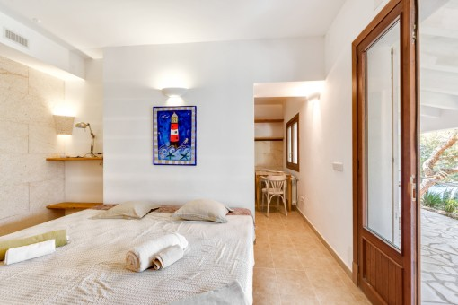 Guest-apartment with separate entrance