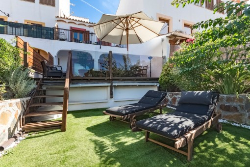 Beautiful terraced house in a central location in Paguera