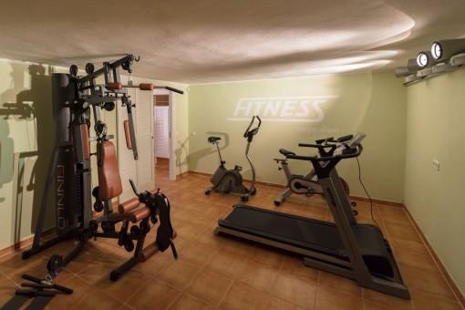Capacious gym