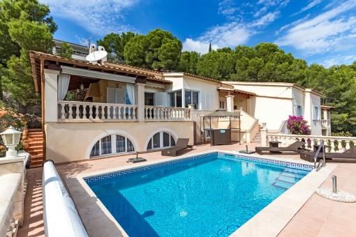 Beautiful villa in Costa d'en Blanes