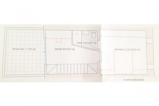 Floorplan of the first floor
