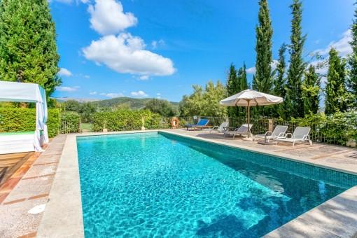 Fantastic swimmin pool