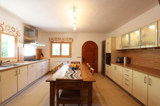Renovated Finca In A Nature Reserve Between Puigpunyent And