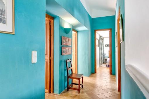 Corridor on the upper floor