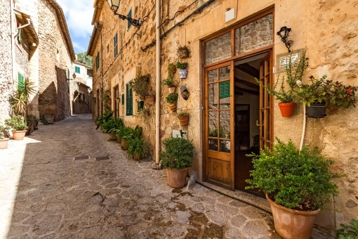 Traditional village house with wonderful views in Valldemossa