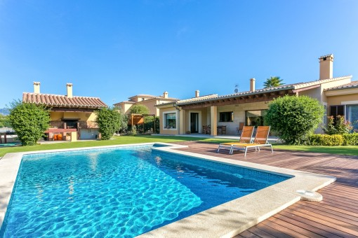Modern villa with 4 bedrooms and pool in Marratxi / Sa Planera