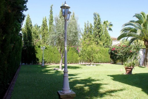 Lovely and well-tended garden