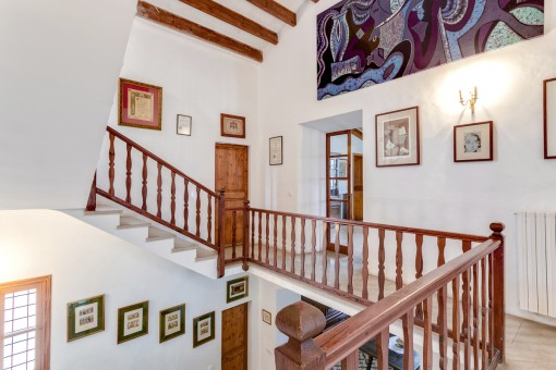 The manor house is ideal for lovers of Mallorcan architecture