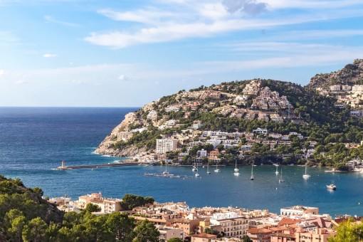 Breath-taking views of the Mediterranean sea