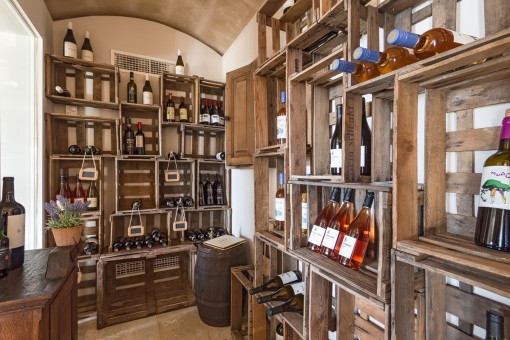 Enjoy a glass of wine in your own bodega