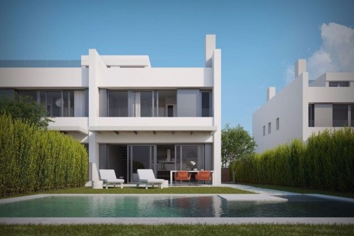 203 sqm living space distributed over 2 floors