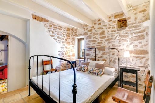 Master bedroom on the ground floor