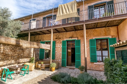 Completely restored town house in the heart of Soller