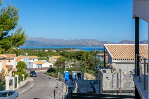 Fantastic views over the bay of Pollensa