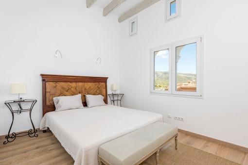 Second bedroom of the villa