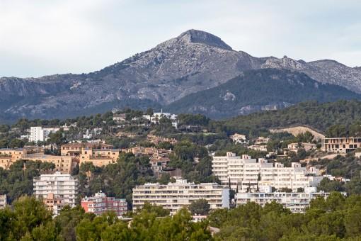 Marvellous mountain views