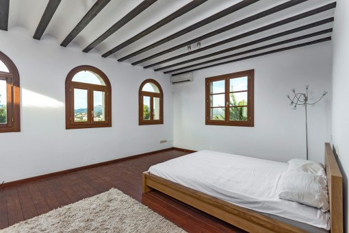 The third double bedroom