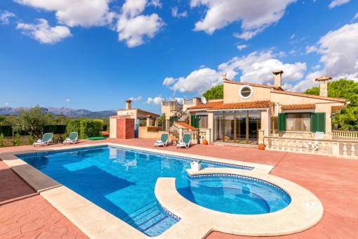 Wonderful terrace and pool area