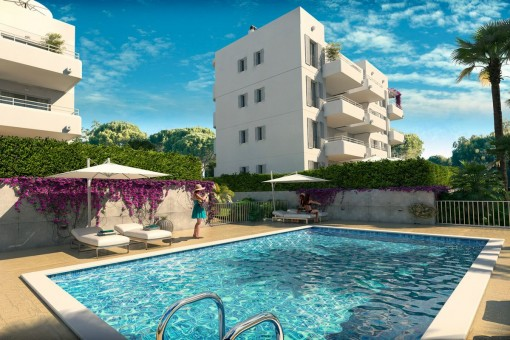 apartment in Cala d'Or