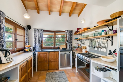 Enchanting country house kitchen