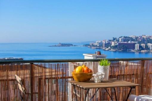 Enchanting apartment with fantastic sea views in Cala Major