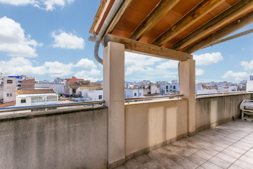 Penthouse with beautiful views in a central location in Puerto Pollenca
