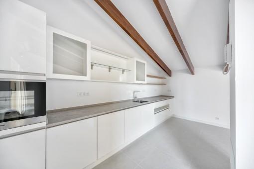 Kitchen on the upper floor