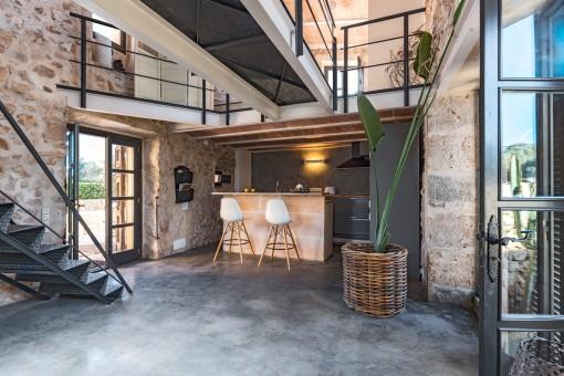 Beautiful, open kitchen