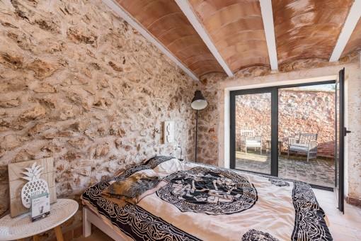 Double bedroom on the upper floor