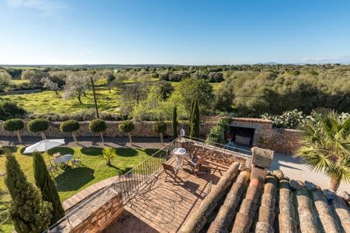 Breathtaking views as far as Cabrera