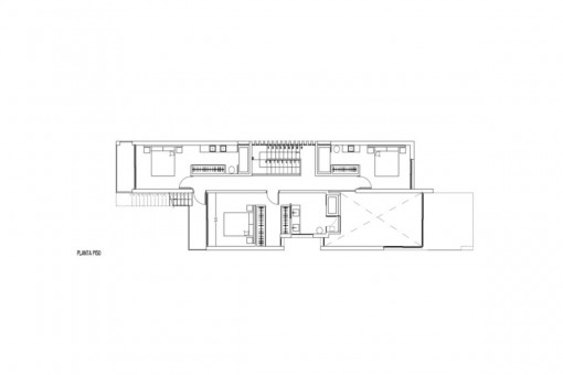 Floor plan of the first floor