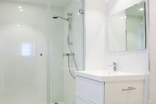The second shower bathroom