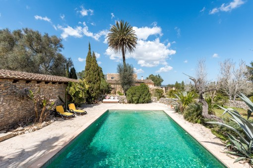 Enchanting finca with wonderful panorama views in the southeast of Mallorca