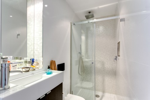 Modern bathroom en suite