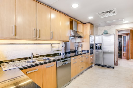 Very well-equipped kitchen
