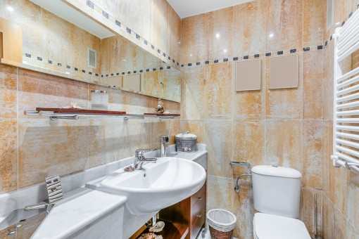 Guest-WC with heating