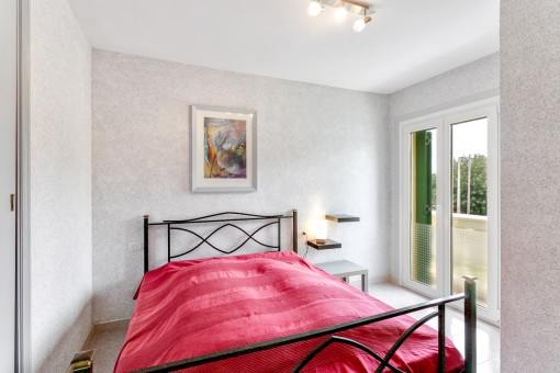 Main bedroom with own roof terrace