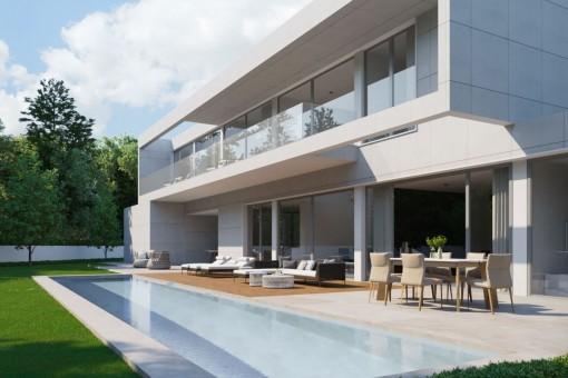 Modern villa project in Santa Ponsa