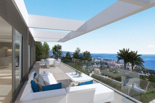 Impressive villa construction project in Santa Ponsa