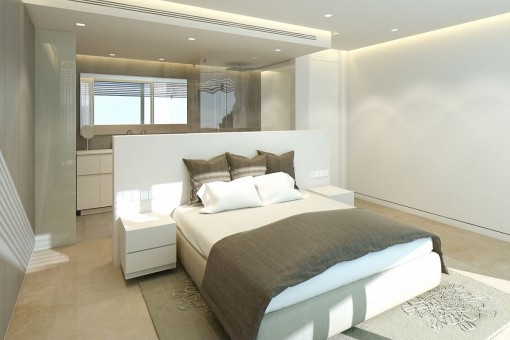 Further luxurious bedroom