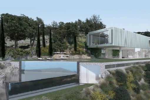 Spectacular modern villa project in a quiet area in Costa de la Calma