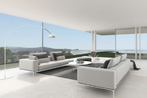 Lounge area with panoramic views